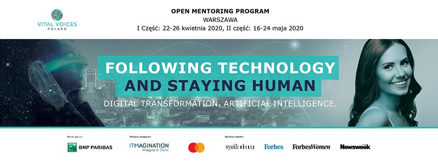 Following technology and staying human
